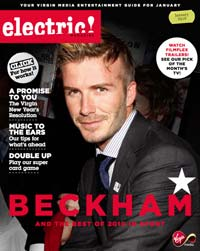 Virgin Media e-zine cover