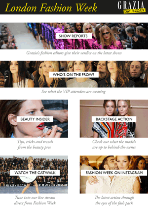 Microsite index | Grazia magazine website