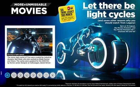 E-magazine layout | Vigin electric!