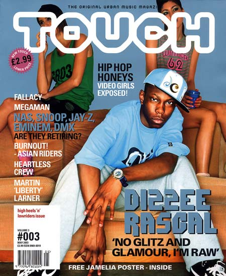 Touch magazine cover