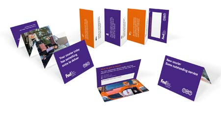 FedEx courier cards